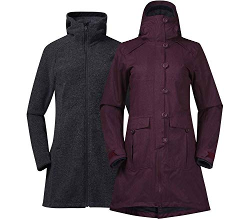 Bergans Bjerke 3in1 Lady Coat - Mantel/Doppeljacke
