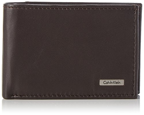 Calvin Klein Jeans Rail Mini 6CC + Coin, Portafoglio Uomo