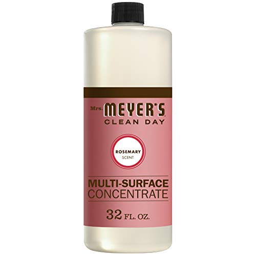 Mrs. Meyer's Clean Day Multi-Surface Cleaner Concentrate, Use to Clean Floors, Tile, Counters,Rosemary Scent, 32 oz