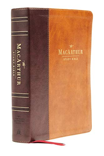 Compare Textbook Prices for NASB, MacArthur Study Bible, , Leathersoft, Brown, Comfort Print: Unleashing God's Truth One Verse at a Time 2 Edition ISBN 9780785230311 by Thomas Nelson,MacArthur, John F.