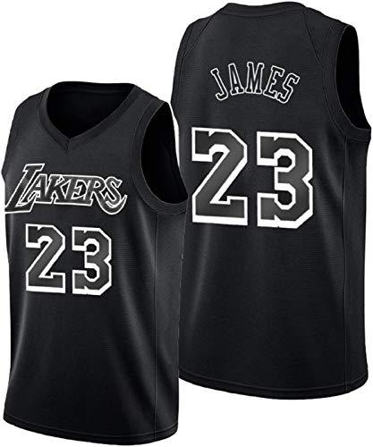 ZMIN Jersey de Baloncesto para Hombre, Lakers # 23 James Shirt Sportswear, Unisex sin Mangas Camisetas Malla Camisetas Camiseta sin Mangas,XL 180~185cm