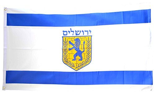 Flaggenfritze Fahne/Flagge Israel Jerusalem + gratis Sticker
