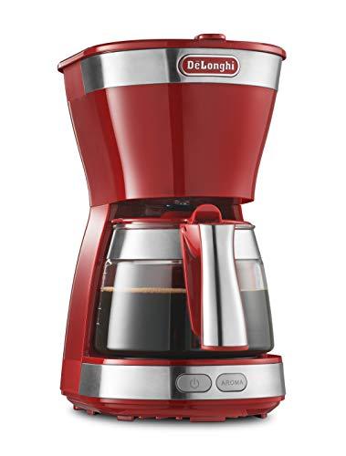 デロンギ(DeLonghi) ドリップコーヒーメーカー レッド アクティブシリーズ [5杯用]ICM12011J-R