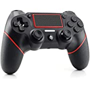 PS4 Controller Etpark Wireless Controller for Playstation 4/Pro/Slim/PC, Touch Panel Gamepad with Dual Vibration and Audio Function, Anti-Slip Grip and Mini LED Indicator