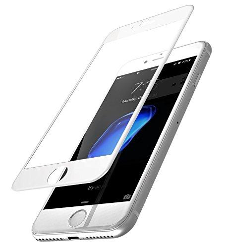 """Película de Vidro 3D, Cell Case, Smartphone Apple Iphone 8 Plus 5.5"""", Branco"""