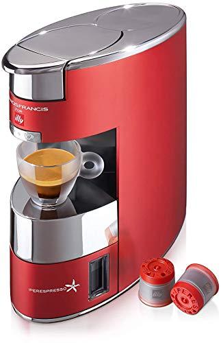 ILLY M./CAFFE' X9 IPERESPRESSO ROSSA MACCHINA DA CAFFE' PER CAPSULE ILLY