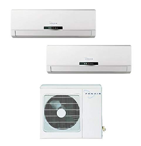 Klimaanlage Dual Split 12000+ 12000BTU/h Inverter DC fanair-fantini Cosmi