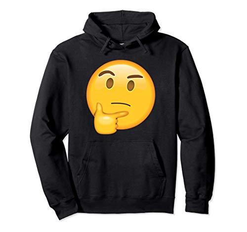 Emoji Thinking Face Glühbirne mit Idee hmmm hmm Gedanken Pullover Hoodie