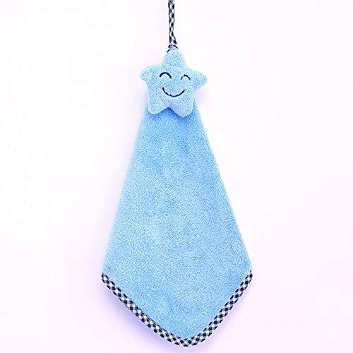 dfsgrfvf handdoek, 1 stuks, microvezel handdoek, zakdoek vijfpuntige ster, smiley, handdoek, super absorberend, stof, keuken, hanghanddoeken