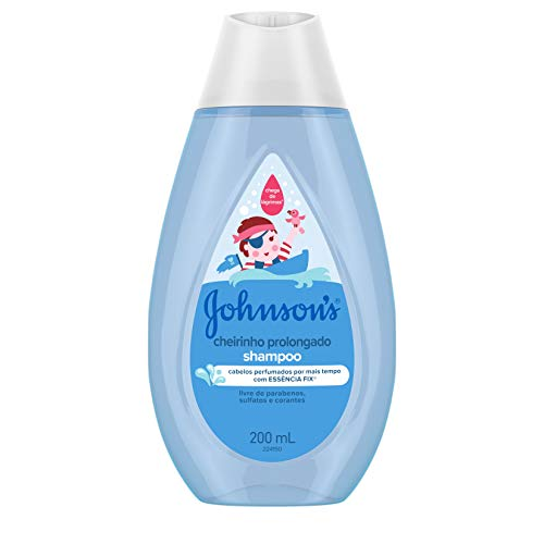 Johnson's Baby Shampoo Infantil Cheirinho Prolongado, 200ml
