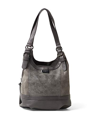 TOM TAILOR Damen Taschen & Geldbörsen Shopper Juna grey,OneSize,C070,2500