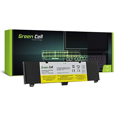 Green Cell Batería para Lenovo Y50-70 20349 20378 20411 20413 80DT 80EJ Y50-80 Y70-70 20350 20415 80DU Y70-80 Portátil (7200mAh 7.4V Negro)