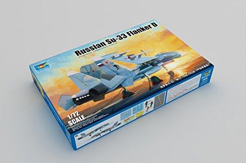 Trumpeter Russian su-33Flanker D 1/72Aircraft Model Kit