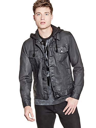 GUESS Factory Men's Rakim Denim Jacket