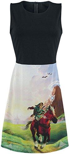 Bioworld The Legend of Zelda Robe pour Femme Ocarina of Time