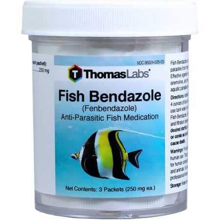 Fish Bendazole (Fenbendazole) 250mg (3 Packets)