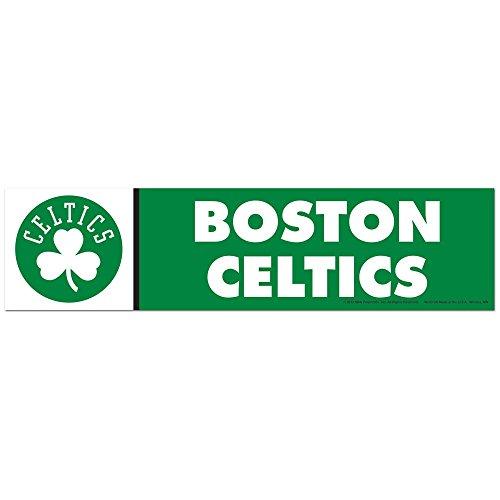 WinCraft NBA Boston Celtics WCR13304313 Bumper Strip, 3' x 12'