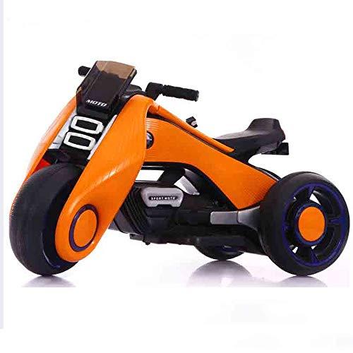 Lihgfw 3-9 jaar oude kind veiligheid van elektrische motorfiets jongen vrouwelijke baby driewieler opladen speelgoedauto kunnen mensen zitten groot/klein