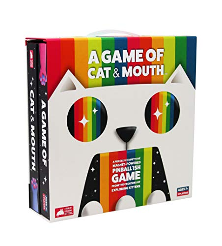 A Game of Cat and Mouth by Exploding Kittens  FamilyFriendly Party Games  Card Games for Adults Teens amp Kids