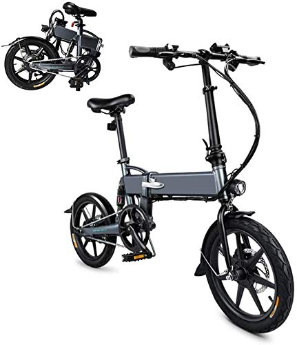 Review SHATOUYU Ebike, 250W 7.8Ah Folding Electric Bicycles, Electric Strip Before Folding Bicycle A...