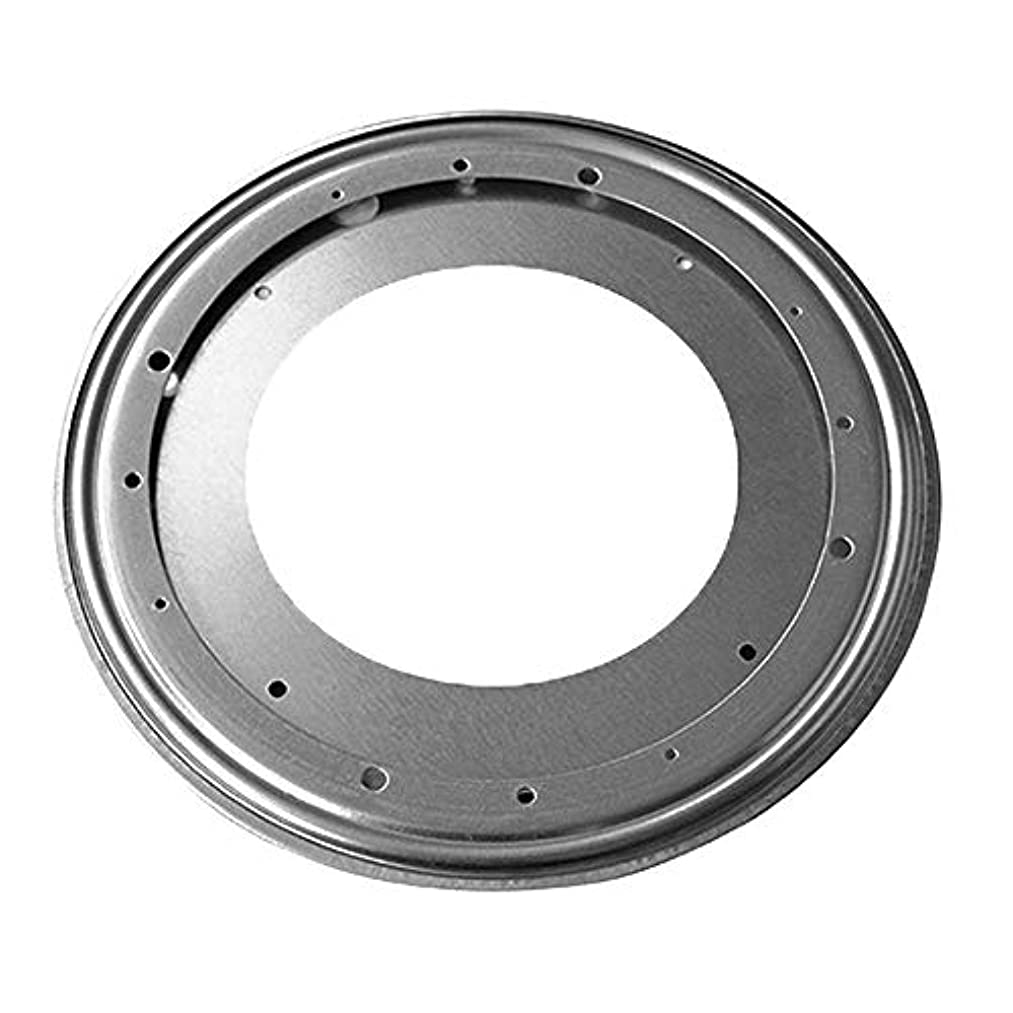 Lecimo 12 Sizes Heavy Duty Metal Bearing Rotating Swivel Turntable Plate For Desk Table