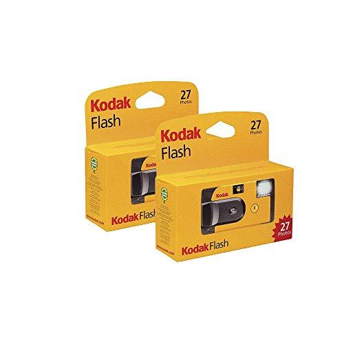 Kodak - Fotocamera usa e getta con flash 27 esposizioni (confezione da 2 unità)