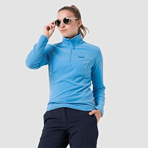 Jack Wolfskin Damen Gecko Sweatshirt, Misty Blue, XL