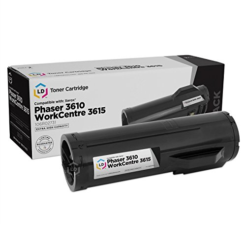LD Compatible Toner Cartridge Replacement for Xerox 106R02731 Extra High Yield (Black, 2-Pack) Photo #3