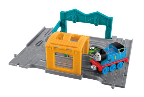 Mattel Fisher-price Take N Play Thomas and Friends Portable Set with Thomas Moteur