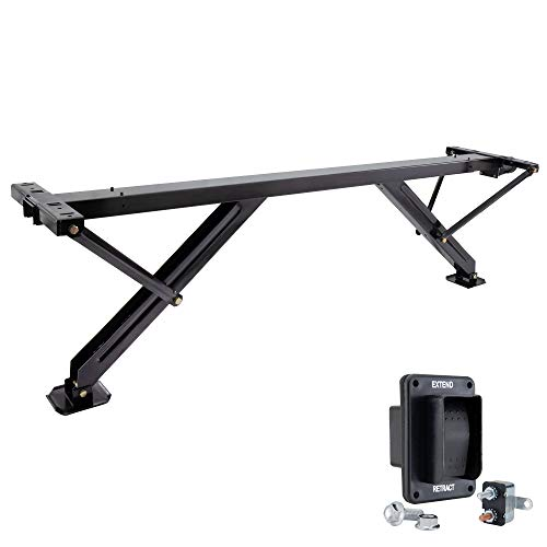 RecPro RV Power Stabilizer C-Jack Assembly   6000lb Capacity   for Leveling and Stabilizing   Optional Install Kit (Include Install Kit)