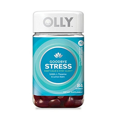 Olly Olly Good Bye Stress Gummies (84Count), 84Count