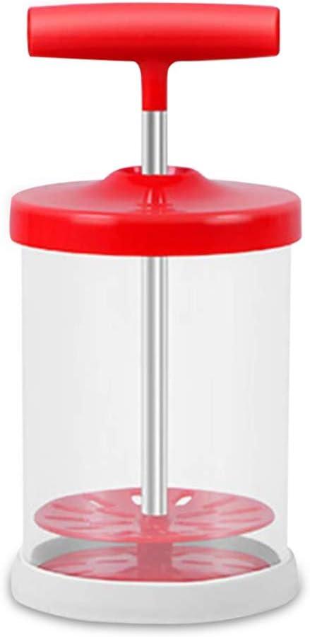 Verde Jarra de leche vaporizador taza pl/ástica leche batidor de mano del hogar de bricolaje huevo Batir Copa accesorios de cocina