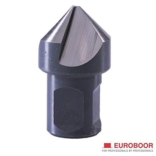 Learn More About EUROBOOR HSS Mag Drill Countersink - Bevel Countersink with Arbor & Weldon Shank (3...