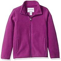 Amazon Essentials Full-Zip Polar Fleece Jacket Outerwear-Jackets, Púrpura (Plum Purple), XS