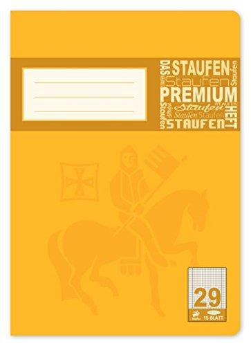 Heft A4 Lin.29,16 Bl Rautiert 5X9 Mm Randlinie
