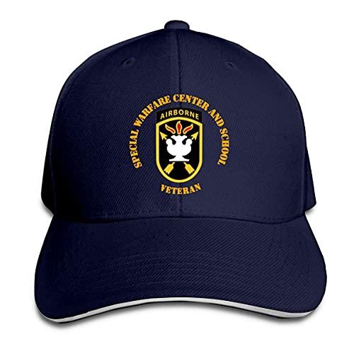 Ahdyr Sombrero Unisex SOF - JFKSWCS - SSI Wo Backgrnd Gorras de béisbol Sandwich Caps
