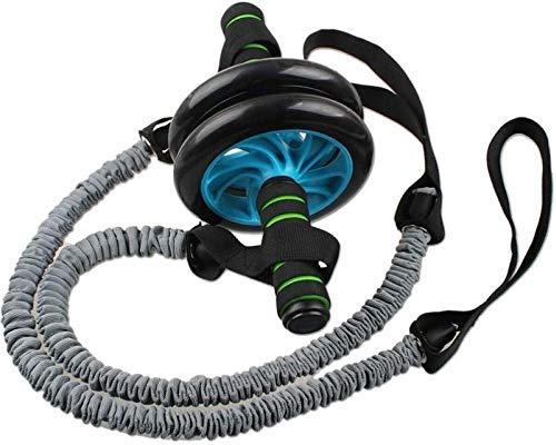 WSJ Ab Roller Wheel Mit Pull Rope Abs Carver Für Bauch Bauch Übungstraining Für Home Gym Fitness