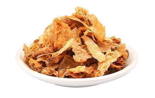 Bio Yacon Wurzel Chips 200g gesunder Snack ohne Öl oder Zuckerzusatz, 100% natürlich, kalorienarm, vegan, ballaststoffreiches Präbiotikum, Oligofructose – Fructo Oligosacharide