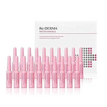Easydew Re-DERMA Master Ampoule 1ml x 20 Vials - Award-Winning Anti Aging EGF Serum for Face/Neck/Eyes - Moisturizing Rejuvenating & Regenerating Cells for Wrinkles with DW-EGF-Korean Skin Care