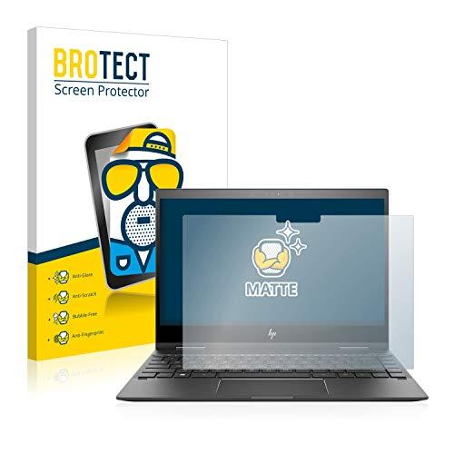 BROTECT Entspiegelungs-Schutzfolie kompatibel mit HP Envy x360 13-ag0700ng Bildschirmschutz-Folie Matt, Anti-Reflex, Anti-Fingerprint