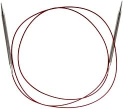 ChiaoGoo Red Lace Circular 60 inch (152cm) Stainless Steel Knitting Needle Size US 7 (4.5mm) 7060-7