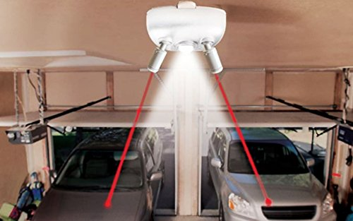 Maxsa Innovations 37314-W-RS Dual Parking Aid with Light