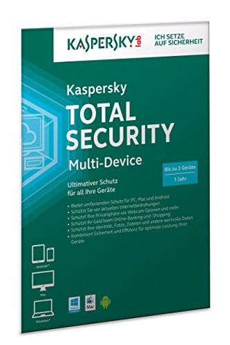 Kaspersky Total Security 2015 Multi-Device (Frustfreie Verpackung)