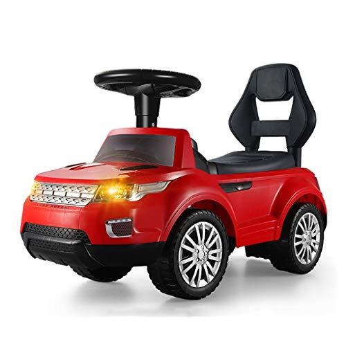Enfants Twist Car Yo Car 1-3 Ans Bébé Scooter Jouet Voiture Enfant Voiture Balançoire Voiture Poussette Jouet FANJIANI (Couleur : Rouge)