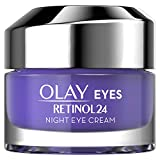 Olay Regenerist Retinol24 Night Eye Cream Moisturiser Fragrance Free With Retinol and Vitamin B3, 15ml