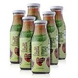Green Frog Jugo de Aloe Vera Bio con Granada, Pack de 6 Botella, 6x500 ml
