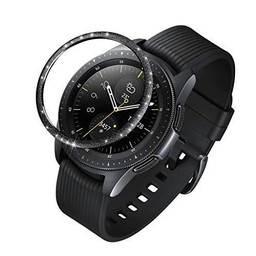 Ringke Bezel Styling Kompatibel mit Samsung Galaxy Watch 42MM / for Samsung Galaxy Watch 42MM / Samsung Galaxy Watch Active/Gear Sport/Gear S2 Lünette Schutz Ring Zubehör Kratzfest (Schwarz)