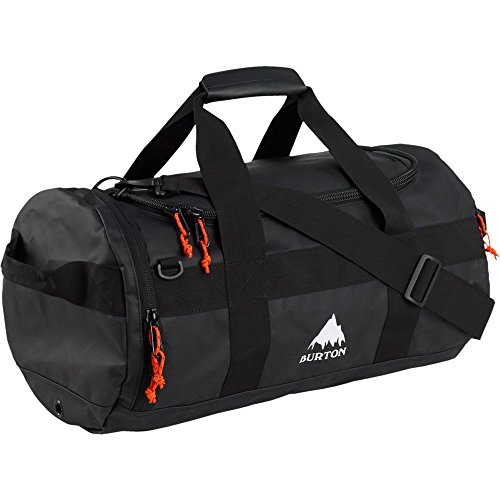 Burton Backhill Duffel Bag, True Black Tarp, 40 L/Small