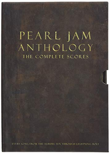 Pearl Jam Anthology - The Complete Scores (Box Set): Songbook für Bass-Gitarre: Deluxe Box Set