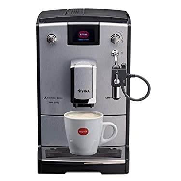 Nivona NICR CafeRomatica 670 Kaffeevollautomat, Silber